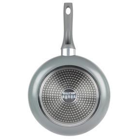 Salter COMBO-3478 Crystalstone 7-Piece Non-Stick Saucepan, Milk Pan, Frying Pan and Wok Set ? Grey Thumbnail 7