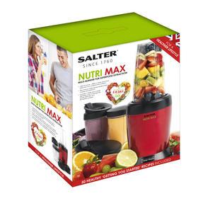 Salter EK2320BM Nutri Max Multi-Blender 1 Litre, 1000 W, Red Thumbnail 3