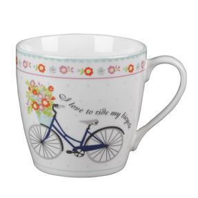 Cambridge CM04693AZ Harrogate Floral Bike Fine China Mug Set of 2