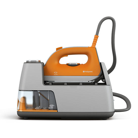 Hotpoint F082740 HD Line SG C10 AA0 Steam Generator Iron, 2400 W, Orange