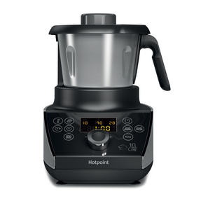 Hotpoint F100194 Ultimate Collection 10 Chef Multi-Cooker and Blender, 1.5 L, 570 W, Stainless Steel