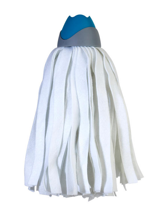 Beldray COMBO-3595 Cloth Mop Replacement Head Refill, Pack of 4, Compatible with LA027055