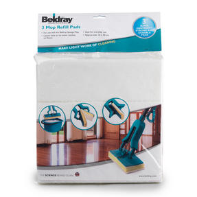 Beldray COMBO-3596 Sponge Mop Replacement Head Refills, Pack of 6, Compatible with LA026477 Thumbnail 5