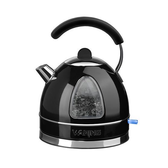 Waring WTK17BKU Traditional Kettle, 1.7 L, 3000 W, Black