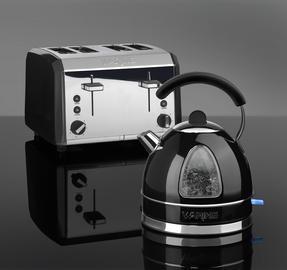 Waring WTK17BKU Traditional Kettle, 1.7 L, 3000 W, Black Thumbnail 2