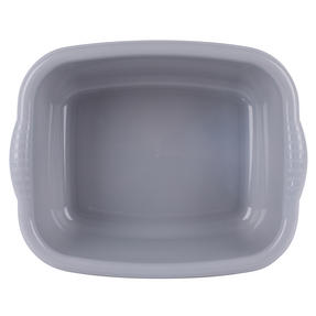 Beldray LA057396GREYEU Rectangular Washing Up Bowl, 10 L, Grey Thumbnail 2