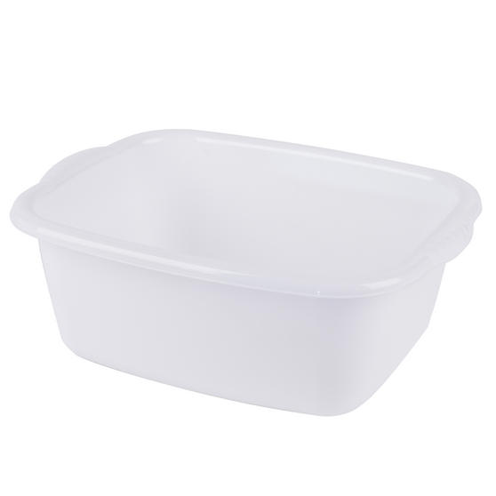 Beldray LA057396WHITEEU Rectangular Washing Up Bowl, 10 L,White
