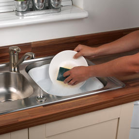 Beldray LA057396WHITEEU Rectangular Washing Up Bowl, 10 L,White Thumbnail 5