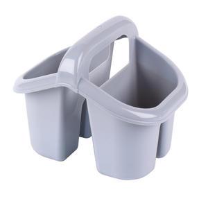 Beldray LA057457GREYEU Four Compartment Cutlery Drainer, Grey Thumbnail 2