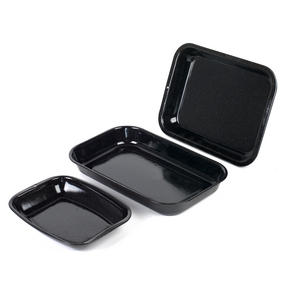 Russell Hobbs COMBO-3162 Romano Vitreous Enamel Roaster, Rack, Baking Tray and Chop Tray Set, 6 Piece Thumbnail 5