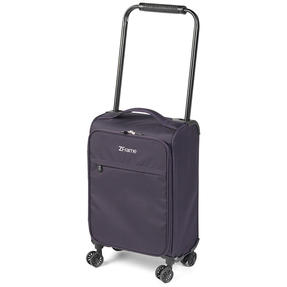 "ZFrame 18"" Small 4 Double Wheel Super Lightweight Cabin Suitcase, 1.98 kg, 30 Litre, Purple, 10 Year Warranty Thumbnail 3"