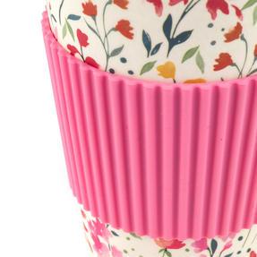 Cambridge CM05914 Cadence Bamboo Eco Travel Mugs, Set of 4 Thumbnail 3