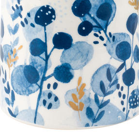 Portobello CM06057 Irena Gold Tank Mugs, Blue and Gold, Set of 6 Thumbnail 4