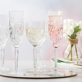 RCR COMBO-3668 Oasis Luxion Crystal Drinkware Collection with Decanter, 25 Piece Thumbnail 3