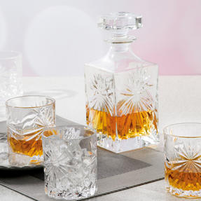 RCR COMBO-3668 Oasis Luxion Crystal Drinkware Collection with Decanter, 25 Piece Thumbnail 4