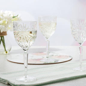 RCR COMBO-3668 Oasis Luxion Crystal Drinkware Collection with Decanter, 25 Piece Thumbnail 7