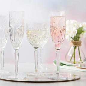 RCR COMBO-2558 Oasis Luxion Crystal Large Drinkware Collection, 48 Piece Thumbnail 8