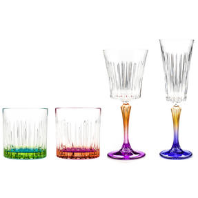 RCR COMBO-3670 Gipsy Luxion Crystal Drinkware Collection, 24 Piece Thumbnail 3