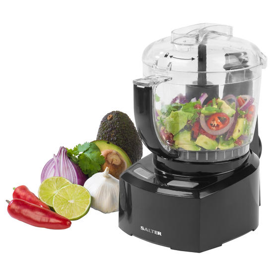 Salter EK3171 8-in-1 Compact Prep Pro Mini Food Processor, 1 L, 200 W