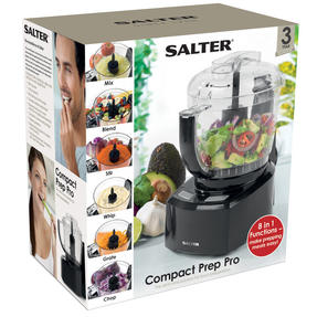 Salter 8-in-1 Compact Prep Pro Mini Food Processor, 1 L, 200 W Thumbnail 4