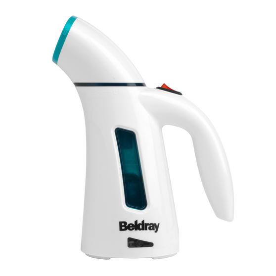 Beldray Handheld Garment Steamer, 600 W, Turquoise Thumbnail 1