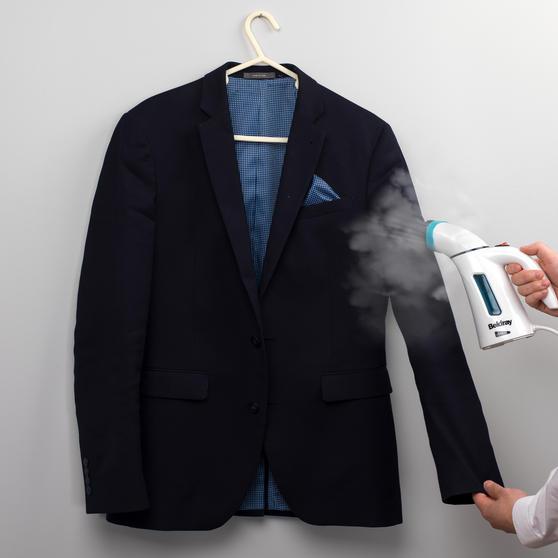 Beldray Handheld Garment Steamer, 600 W, Turquoise Thumbnail 5