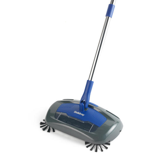 Beldray Rechargeable Electric Floor Sweeper, Blue Thumbnail 8