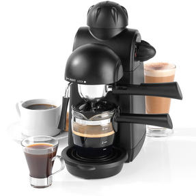 Salter Espressimo Barista Style Coffee Machine, Black Thumbnail 1