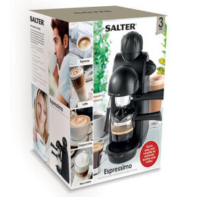 Salter EK3131 Espressimo Barista Style Coffee Machine, Black Thumbnail 11