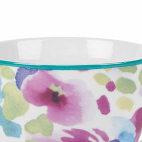 Portobello CM06168NBC Faye Polka Teal Sandringham NBC Floral Mug, Set of 8 Thumbnail 2