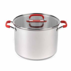 Pyrex COMBO-3400 Passion Casserole Dishes and Stockpot with Lids, 3 Piece Set, Stainless Steel Thumbnail 5
