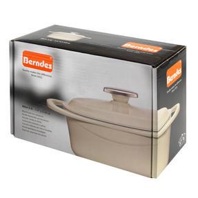 Berndes COMBO-3714 Light Round Casserole Dish with Orange Trivet, Cast Iron, 20 cm Thumbnail 9