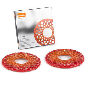 Berndes COMBO-3715 Light Round Casserole Dishes with Orange Trivets, Set of 2, Cast Iron, 20 cm Thumbnail 8