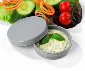Salter COMBO-3489 Fruit and Vegetable Baton Stick Slicer and Meal Storage Pot Prep Set, White/Green Thumbnail 5