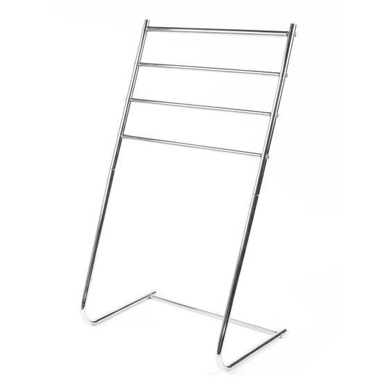 Beldray 4 Tier Towel Rail, 46 cm x 33 cm x 82 cm, Chrome