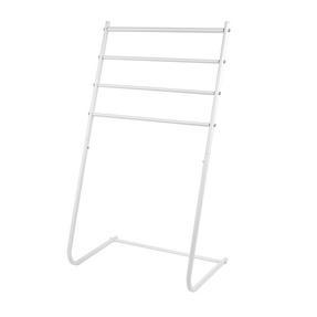 Beldray LA055477WHTE 4 Tier Towel Rail, 46 cm x 33 cm x 82 cm, White Thumbnail 1