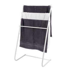 Beldray LA055477WHTE 4 Tier Towel Rail, 46 cm x 33 cm x 82 cm, White Thumbnail 3