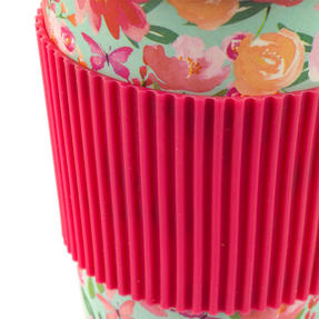 Cambridge CM05897 Large Flori Bamboo Eco Travel Mug Set of 6 Thumbnail 3