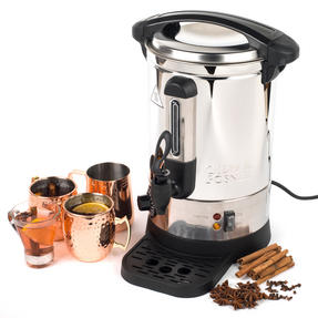 Giles & Posner COMBO-3466 Mulled Wine Dispenser Urn and Three-Pan Buffet Server, Stainless Steel Thumbnail 5
