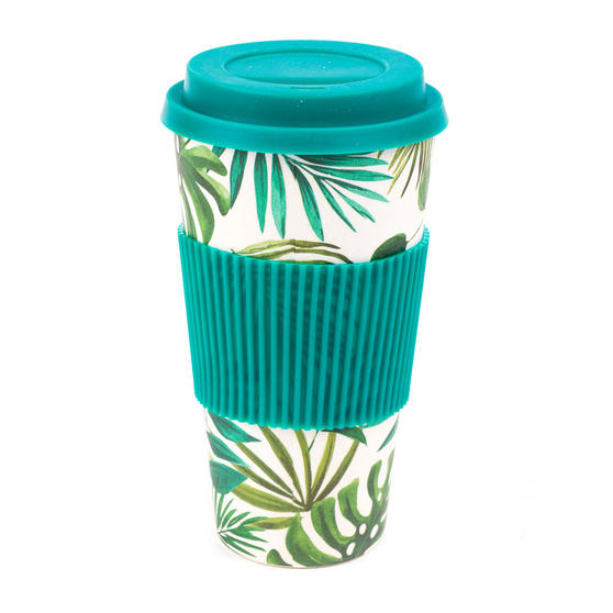 Cambridge CM05909 Large Polynesia Bamboo Eco Travel Mug, Set of 2