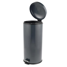 Russell Hobbs RH00388G Dome Pedal Bin, 30 Litre, Grey Thumbnail 2