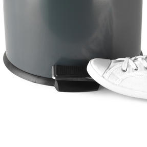 Russell Hobbs RH00388G Dome Pedal Bin, 30 Litre, Grey Thumbnail 5