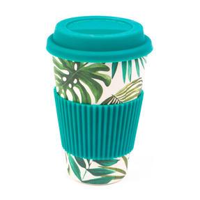 Cambridge CM05918 Polynesia Bamboo Eco Travel Mugs, Set of 4 Thumbnail 1