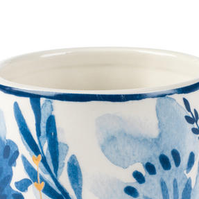 Portobello CM06053 Dana Gold Tank Mug, Blue and Gold, Set of 4 Thumbnail 2