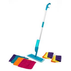 Beldray COMBO-3575 Telescopic Spray Mop with 12 Microfibre Cleaning Cloths