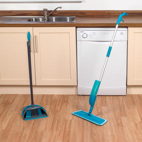 Beldray COMBO-3577 Telescopic Spray Mop with Dustpan and Broom Cleaning Set, 3 Piece Thumbnail 7