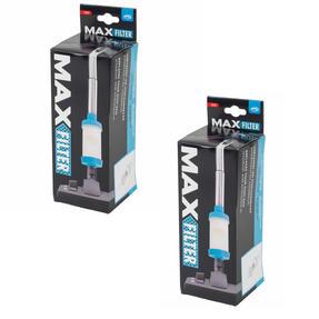 JML COMBO-3792 Max Filter Reusable Vacuum Cleaner Dust Collector, Set of 2, Plastic, 9 cm x 27 cm, Light Blue