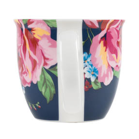 Cambridge CM057151 Oxford Bethany Navy Fine China Mug, Set of 6 Thumbnail 2