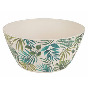 Cambridge COMBO-3674 Polynesia Bamboo Eco Friendly Plates and Bowls Tableware, 8 Piece Thumbnail 2