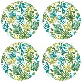 Cambridge COMBO-3674 Polynesia Bamboo Eco Friendly Plates and Bowls Tableware, 8 Piece Thumbnail 4